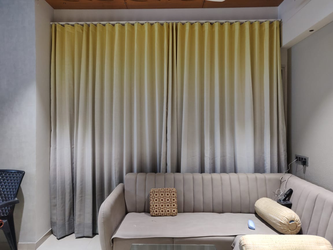 custom panel  curtains